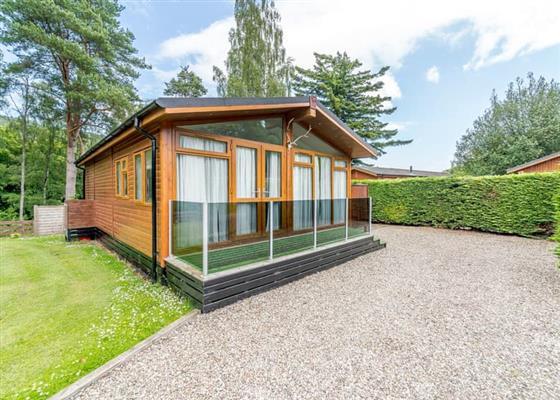 Highland Spa Lodge 1 (Pet) at Erigmore Leisure Park, Dunkeld