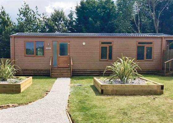 Honeysuckle Lodge at Croft Park, Little Weighton