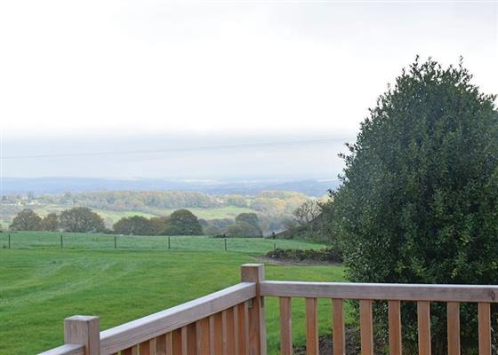 Honeysuckle Lodge at Hazelhurst Lodges, Chesterfield