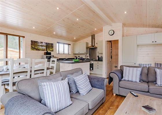 Hurricane Lodge at Marwell Lodges, Winchester