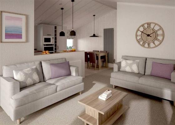 Indulgent Lodge VIP 8 at Sandy Balls Holiday Village, Fordingbridge