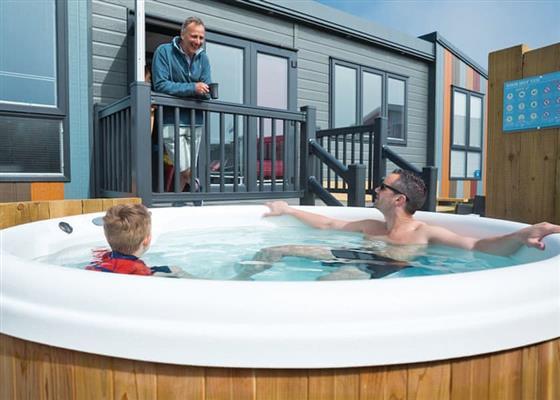 Indulgent TriBeCa VIP at Whitecliff Bay Holiday Park, Bembridge