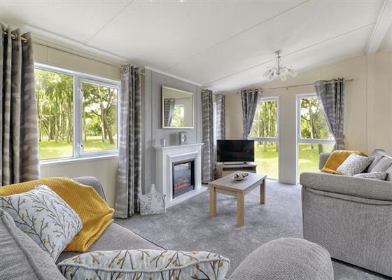 Inspiration Lodge 8 VIP at Holiday Resort Unity, Burnham-on-Sea
