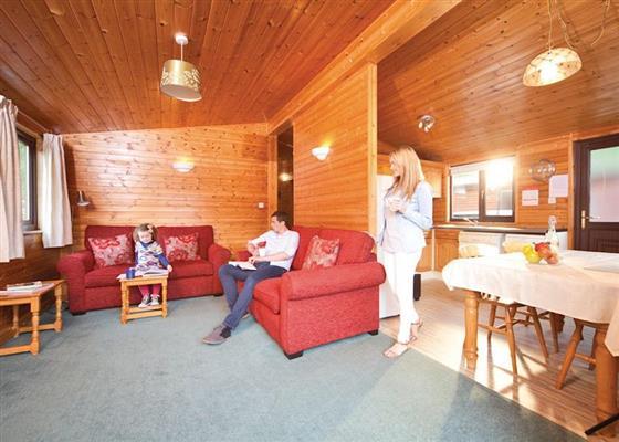 Island Lodge at Loch Lomond Holiday Park, Arrochar