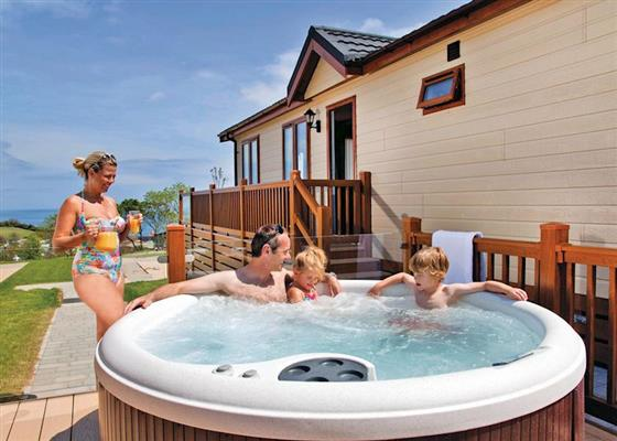 Jurassic Lodge at Ladram Bay, Budleigh Salterton