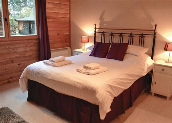 Kenwick Lodge D at Kenwick Woods Lodges, Louth