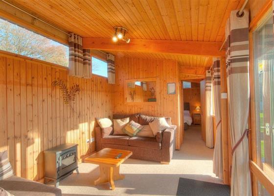Kestrel Lodge (Pet) at Hoburne Doublebois, Liskeard