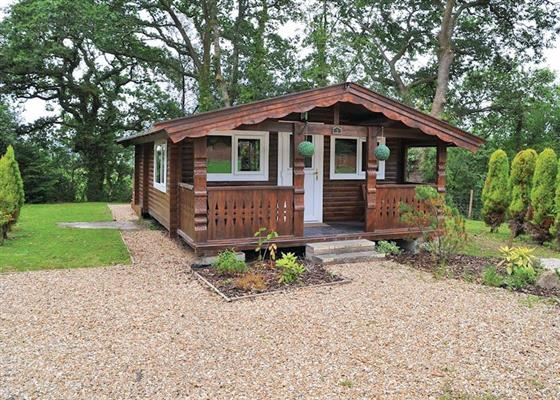 Kestrel Lodge at Heronstone Lodges, Swansea