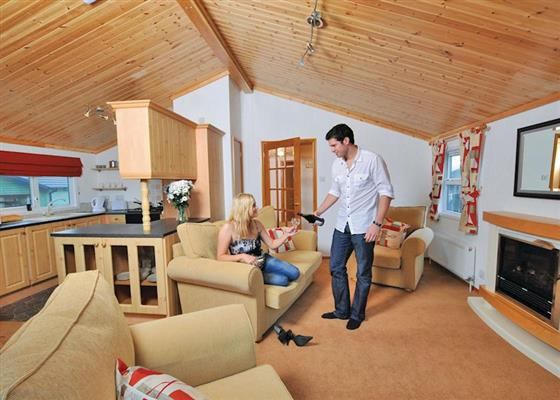 KI 3 Bed Gold Lodge pet at Killigarth Manor, Looe