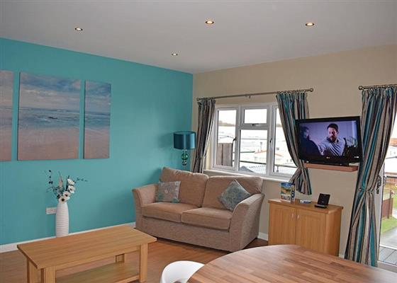 Ladram Seaview Apartment at Ladram Bay, Budleigh Salterton