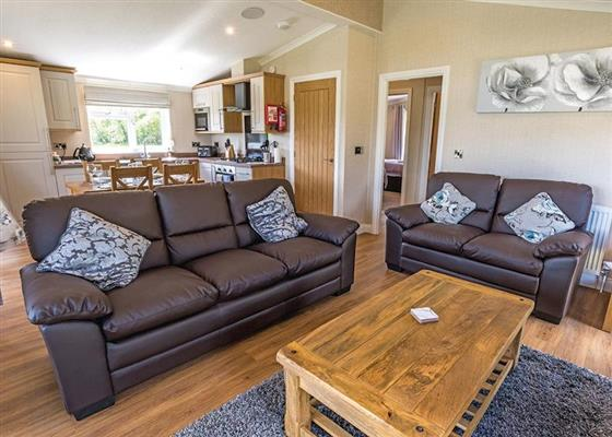 Lakeside 2 Plus at Woodhall Country Park Lodges, Woodhall Spa