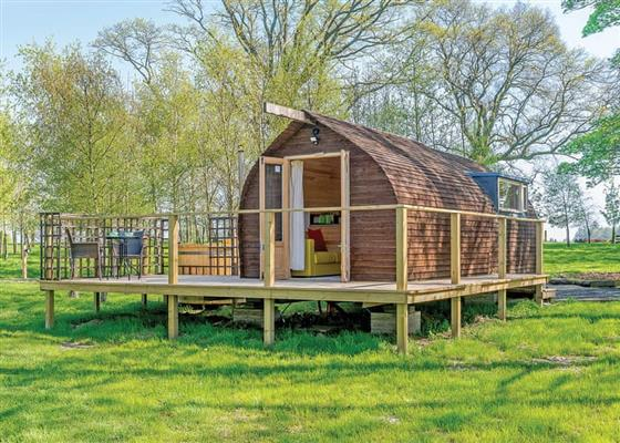 Lakeside Boathouse A at Blossom Plantation Pods, Chathill