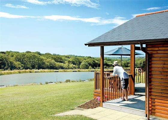 Lakeside Lodge at Wooda Lakes, Holsworthy