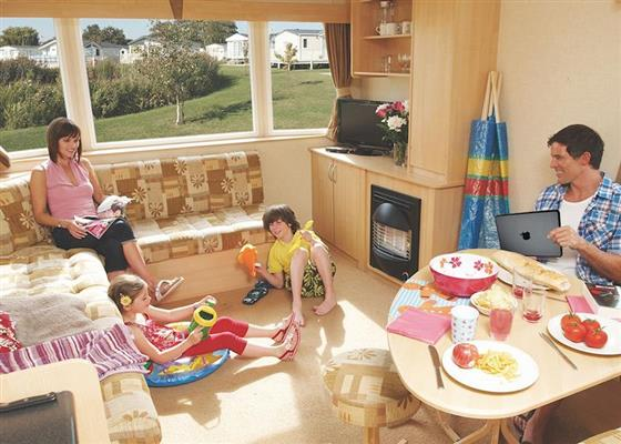 Landguard Silver 3 sleeps 8 pet at Landguard Holiday Park, Shanklin