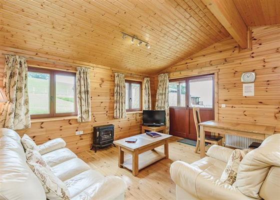 Lavender Lodge at Trewythen Lodges, Llandinam