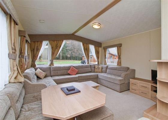 Loch Awe comfort Plus at Loch Awe Holiday Park, Taynuilt
