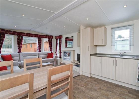 Loch Awe Premier Caravan 2 at Loch Awe Holiday Park, Taynuilt