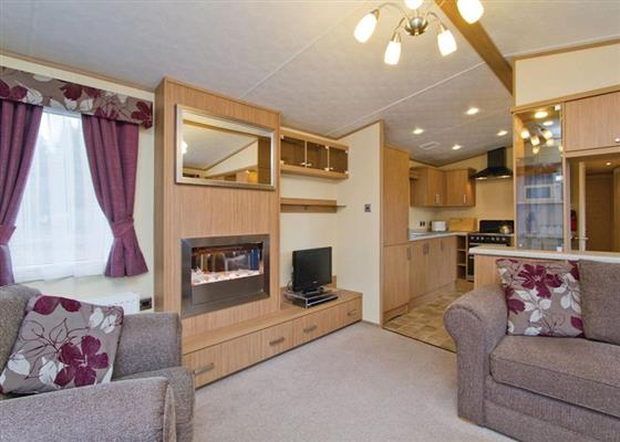 Loch Awe Premier Caravan at Loch Awe Holiday Park, Taynuilt