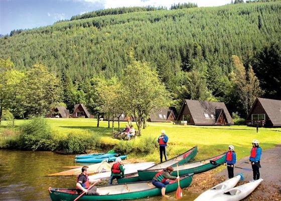 Loch Oich Spa Lodge