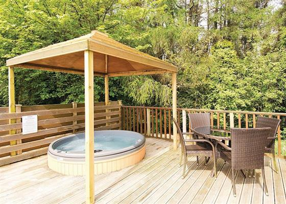 Longnor Wood Deluxe (Pet) at Longnor Wood Holiday Park, Buxton