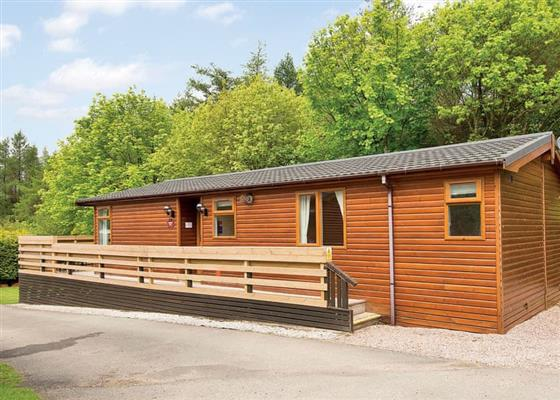 Longnor Wood Superior 1 at Longnor Wood Holiday Park, Buxton