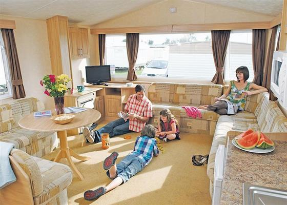 Lower Hyde Gold 3 Caravan at Lower Hyde, Shanklin