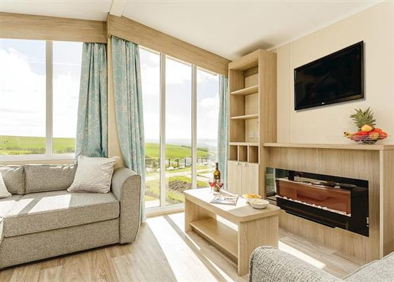 Lundy Sea View 3 at Sandymouth Holiday Resort, Bude