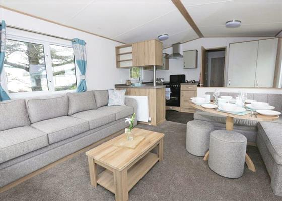 Luxury Caravan 8 VIP at Whitecliff Bay Holiday Park, Bembridge