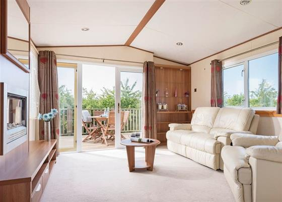 Luxury Holiday Home Hot Tub at Praa Sands Holiday Park, Penzance
