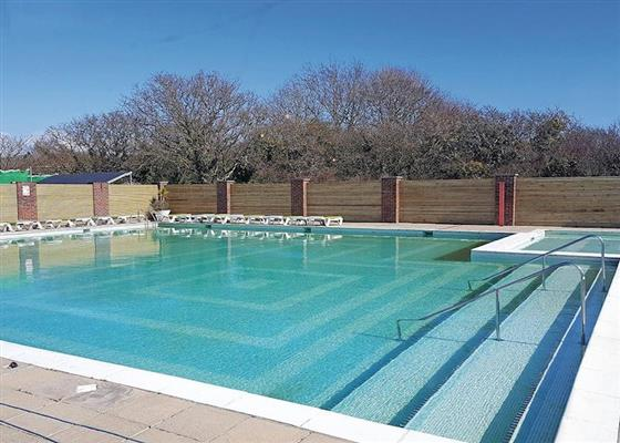 Luxury Lodge 8 VIP at Whitecliff Bay Holiday Park, Bembridge