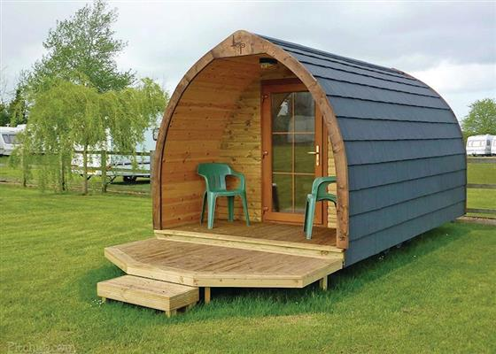 Luxury Pod at Longnor Wood Holiday Park, Buxton