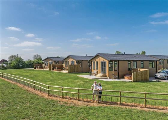 Maple Lodge at New Oaks Farm Lodges, Somerton