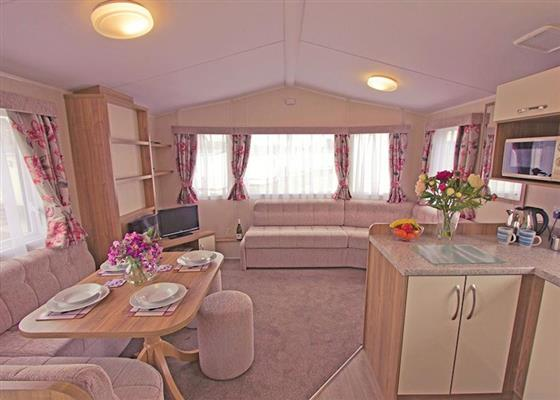 Meadow Caravan at Weir Meadow Park, Evesham