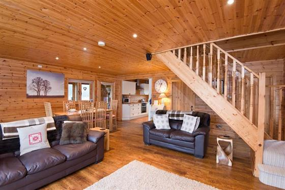 Menai Lodge at Anglesey Lakeside Lodges, Menai Bridge