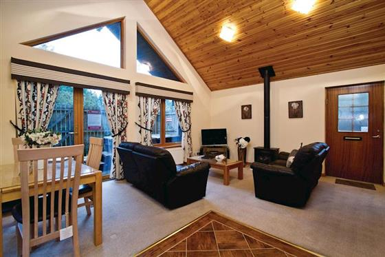 Muirloch Executive Lodge at Piperdam Lodges, Dundee