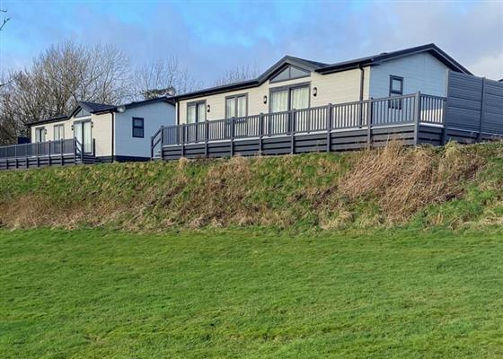 Nith Valley Lodge at Nunland Hillside Lodges, Dumfries