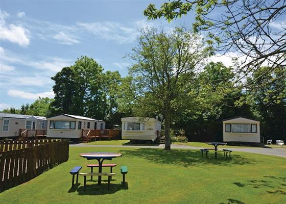 Noble Gold Plus at Noble Court Holiday Park, Narberth