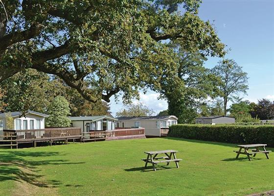 Oak Lodge 3 at Oakcliff Holiday Park, Dawlish