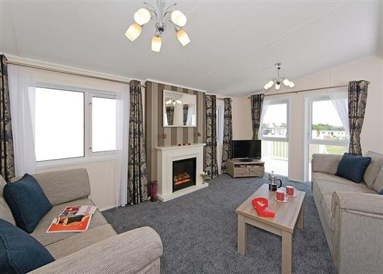 Oak Lodge at Florence Springs Lakeside Lodges, Tenby