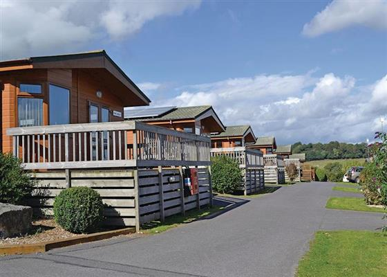 Oak Lodge VIP at Oakcliff Holiday Park, Dawlish