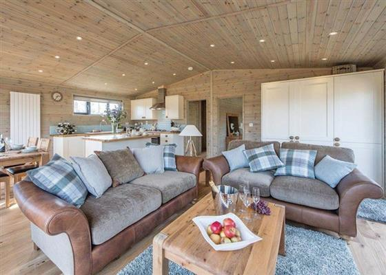 Oak VIP Lodge at Ashlea Pools Lodges, Craven Arms