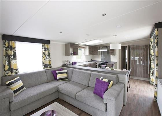 Ocean Edge Platinum 2 sleeps 4 at Ocean Edge Leisure Park, Morecambe