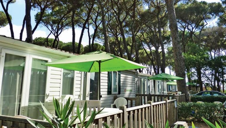 One of the holiday properties at Camping Village Fabulous in Rome, Italy