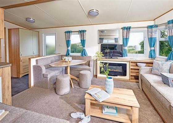 Ord Deluxe Caravan at Ord House Country Park, Berwick-upon-Tweed