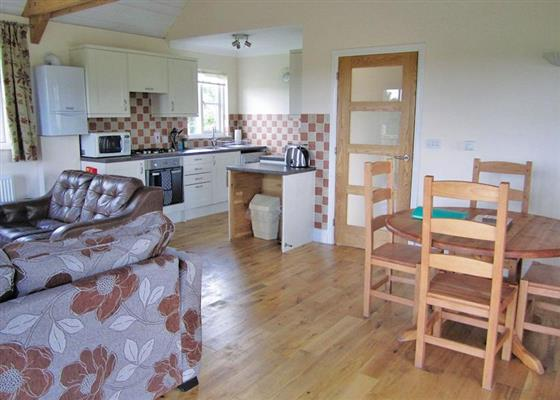 Otter Lodge at Oak Farm Lodges, Diss