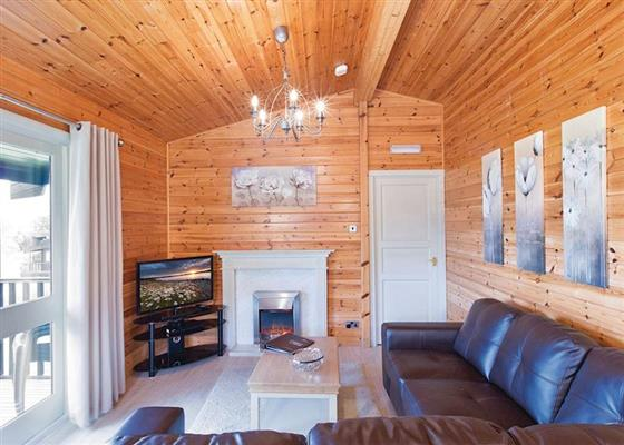 Otterstone Executive at Kielder Water Lodges, Hexham