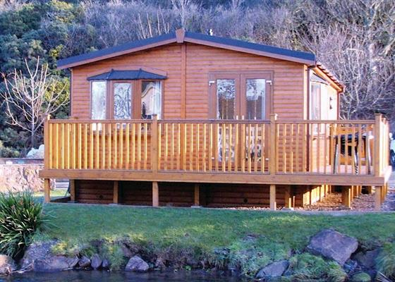 Pease Classic Lodge 2 at Pease Bay Holiday Park, Cockburnspath