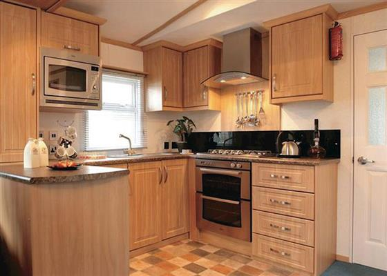 Platinum 6 Plus Caravan at Praa Sands Holiday Park, Penzance