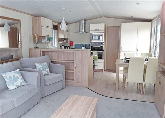 Platinum Caravan Four (Pet) at Finlake Holiday Resort, Newton Abbot