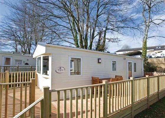Platinum Caravan Four Plus (Pet) at Orchard Park, Paignton